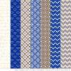 Royal Blue Patterned Elephant Clipart & Patterns