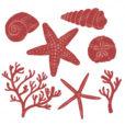 Autumn Seashell Clipart