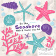 Crayon Box Girl Seashell Clipart
