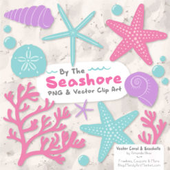 Fresh Girl Seashell Clipart