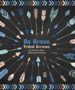 Oceana Tribal Arrows Clipart