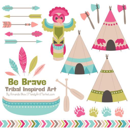 Bohemian Tribal Clipart