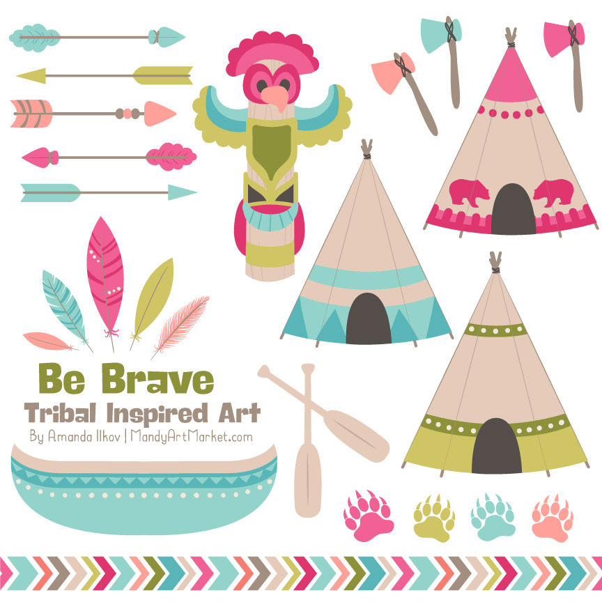 bohemian tribal clipart rh mandyartmarket com tribal clipart black and white tribal clipart png