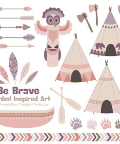 Buff Tribal Clipart