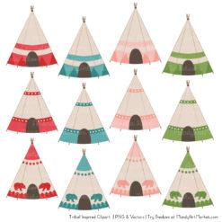 Cherry Bomb Tribal Clipart