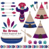 Jewel Tribal Clipart