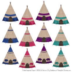 Jewel Tribal Clipart