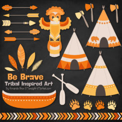 Sunshine Tribal Clipart