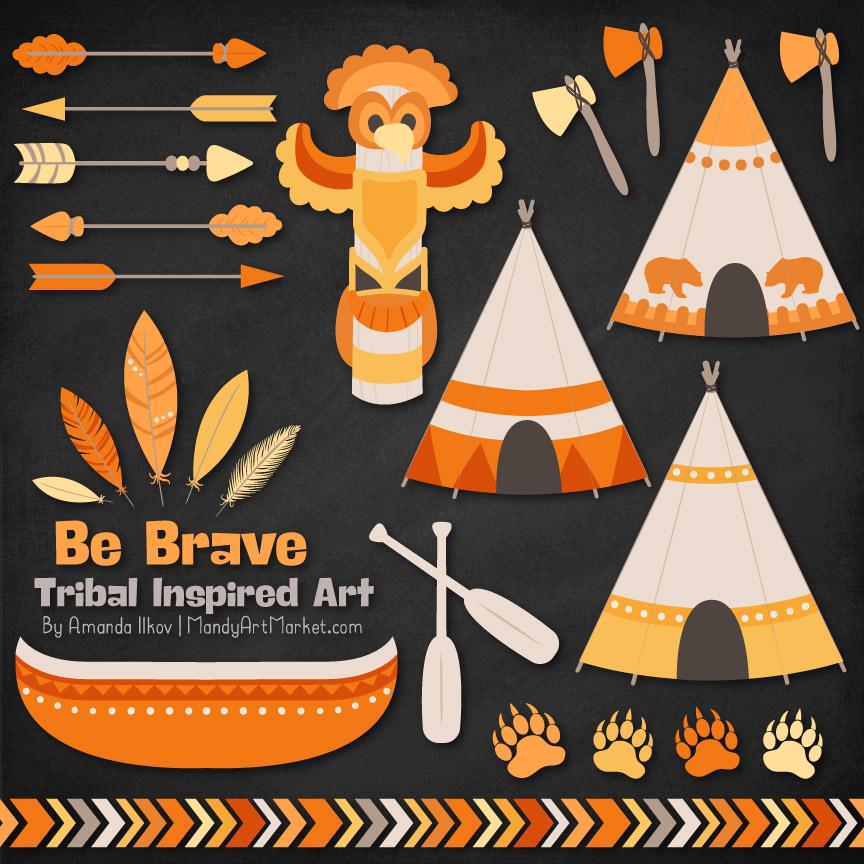 Sunshine Tribal Clipart
