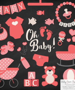 Coral Baby Clipart