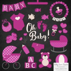 Fuchsia Baby Clipart