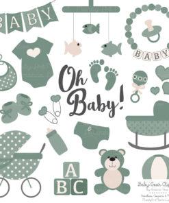 Hemlock Baby Clipart