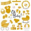 Mustard Baby Clipart
