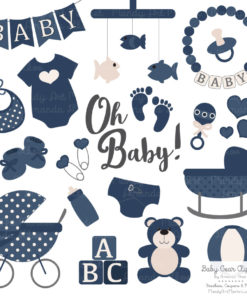 Navy Baby Clipart