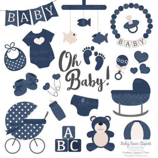 Navy Baby Clipart