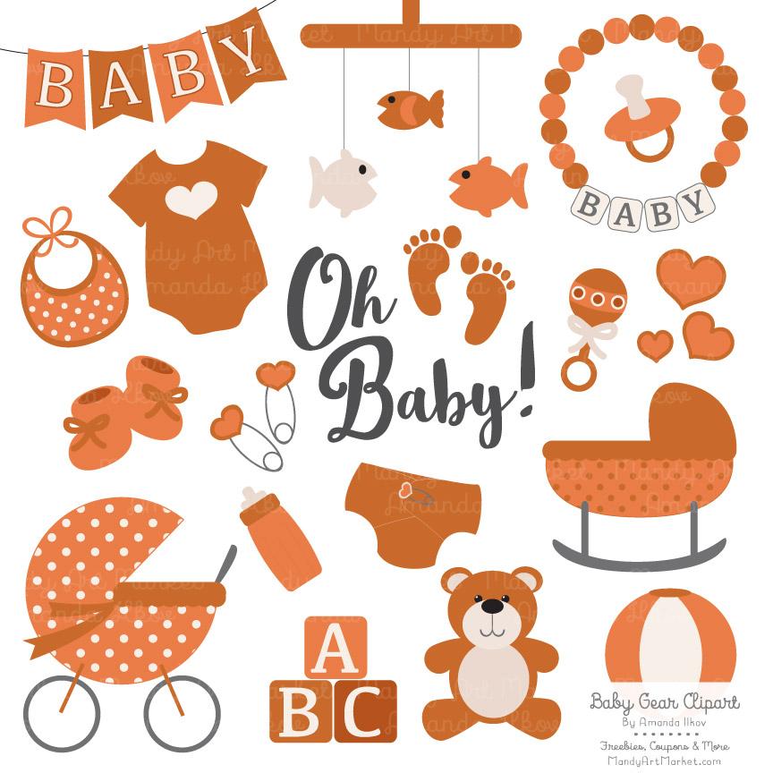 Pumpkin Baby Clipart