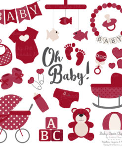 Ruby Baby Clipart