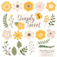Sunshine Flower Clipart