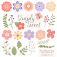 Wildflowers Flower Clipart