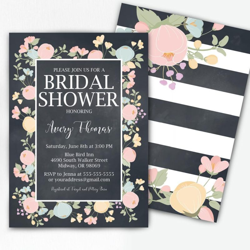 Free Bridal Shower Invitation 2