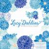Blue Dahlia Clipart