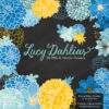 Blue & Yellow Dahlia Clipart