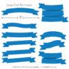 Blue Ribbon Banner Clipart