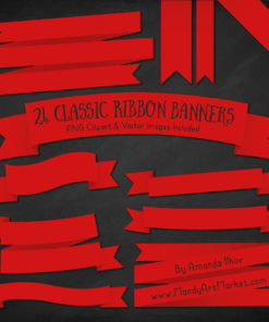 Red Ribbon Banner Clipart