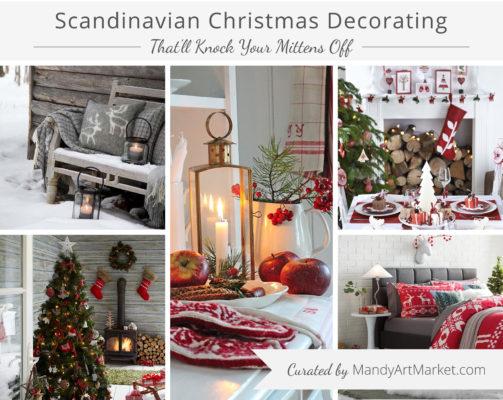 Scandinavian Christmas Decorating