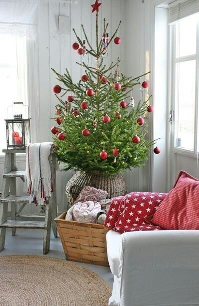 Scandinavian Christmas Cottage
