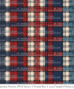 Americana Cozy Plaid Patterns