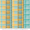 Aqua & Yellow Cozy Plaid Patterns