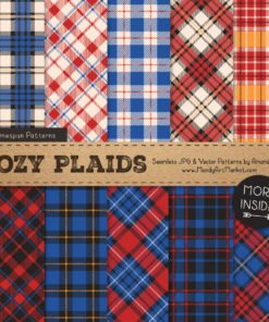 Crayon Box Boy Cozy Plaid Patterns