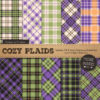 Crocus Cozy Plaid Patterns