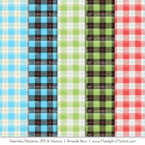 Fresh Boy Cozy Plaid Patterns