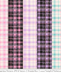 Fresh Girl Cozy Plaid Patterns