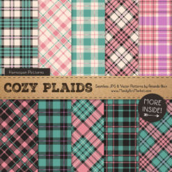 Garden Party Cozy Plaid Patterns
