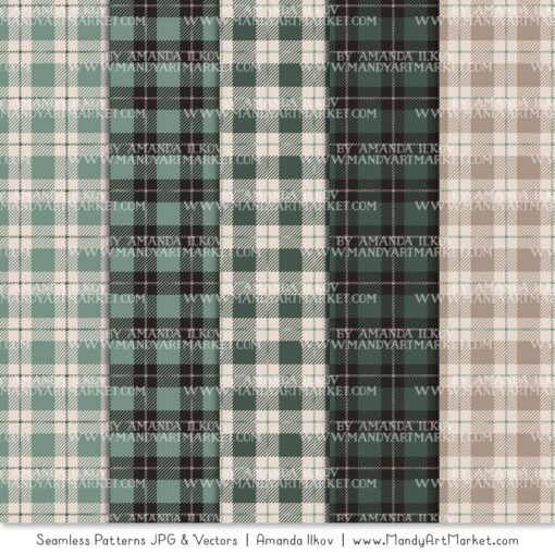 Hemlock Cozy Plaid Patterns