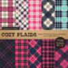 Navy & Hot Pink Cozy Plaid Patterns