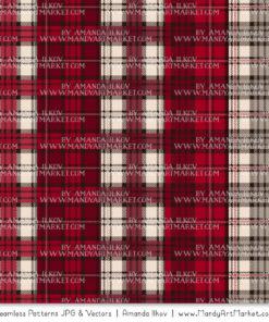 Ruby Cozy Plaid Patterns