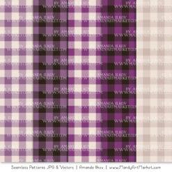 Amethyst Cozy Plaid Patterns