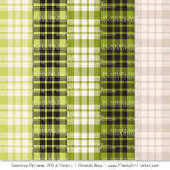 Bamboo Cozy Plaid Patterns