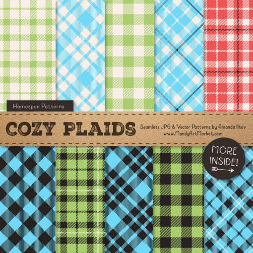 Fresh Boy Cozy Plaid Patterns
