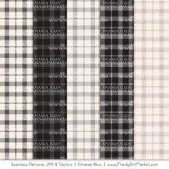 Grey Cozy Plaid Patterns