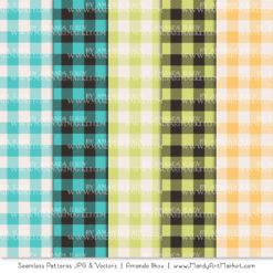 Land & Sea Cozy Plaid Patterns