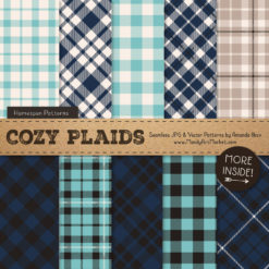 Oceana Cozy Plaid Patterns