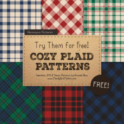 Free Plaid Patterns 1