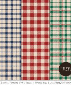 Free Plaid Patterns 2