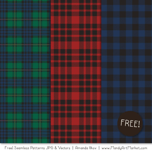 Free Plaid Patterns 3