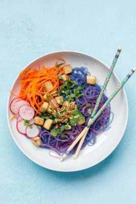 Blue Magic Noodle Bowl